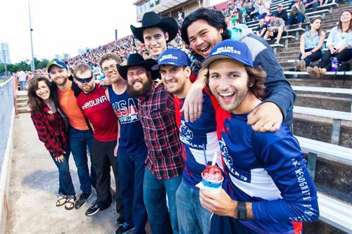 Dallas Roughnecks fan photo