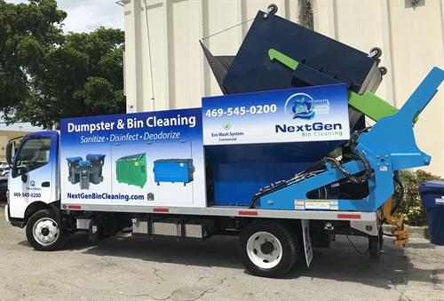 NextGen Bin Cleaning Dumpster & Trash Bin Cleaning, Pad Cleaning, Power Washing Services