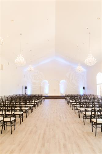 Smaller Ballroom/Chapel with Built In Stage