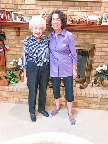 We love this client caregiver duo!