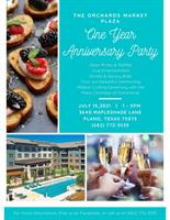ONE YEAR ANNIVERSARY PARTY AND RIBBON CUTTING CEREMONY