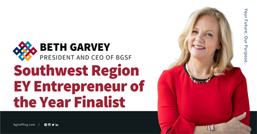 BGSF's Beth Garvey Named a Finalist in the EY Entrepreneur of the Year® 2020 Award for the Southwest Region