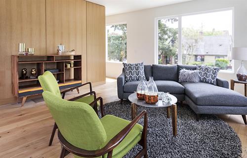 Modern Lakewood Living Room