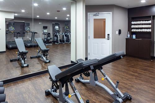 State-of-the-art Fitness room