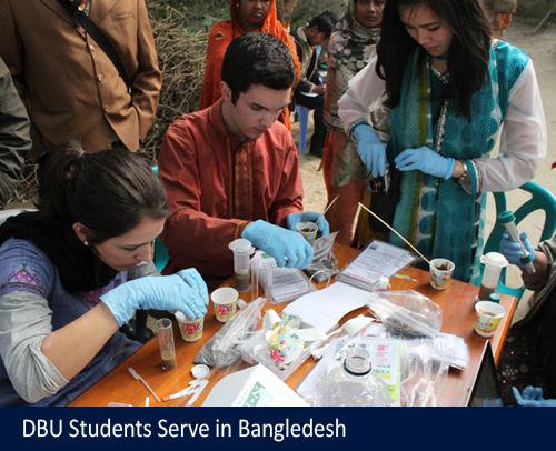 DBU Students Serve in Bangladesh