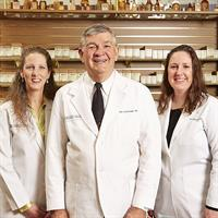 Owners/Pharmacists: Lark Scarbrough-Swofford, Bob Scarbrough, Codi Scarbrough-Triesch
