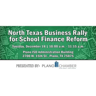 North Texas Business Rally for School Finance Reform