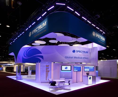 Spectrum Pharmaceuticals Booth