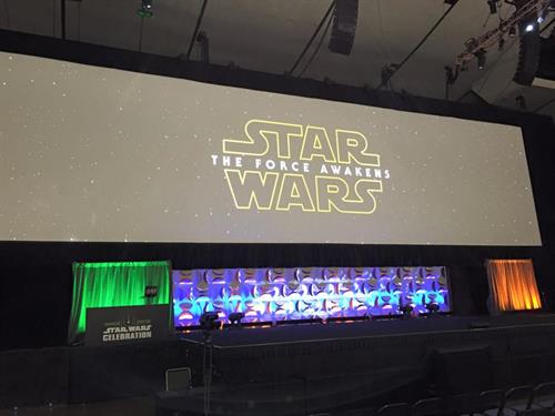 Star War's Celebration 2015 Main Stage