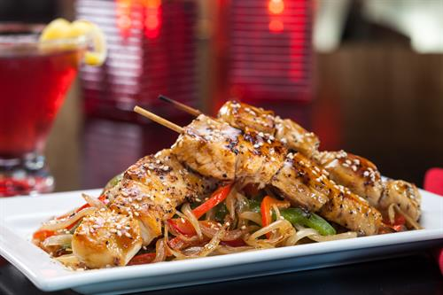 Looking for something cooked? We have plenty of options like our Chicken Yakitori