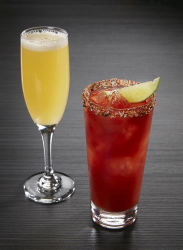 We're serving up bottomless Ginger Mimosas and Tokyo Bloody Marys during Sunday Brunch
