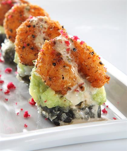 RA'ckin Shrimp Roll, a guest favorite that is sure to please