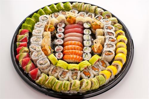 We're available for catering and platter orders for any large parties. Call today!