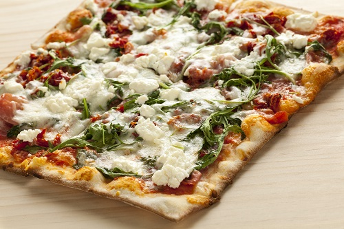 Proscuitto & Goat Cheese Pizza