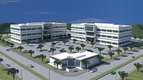Architectural Visualization (Site Plan)