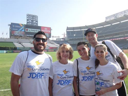 Team cuSELLeration at the JDRF One Walk