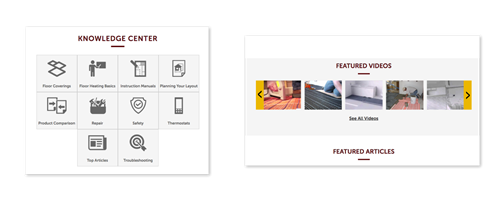 Custom integrations, migrations and features for Warm Your Floor