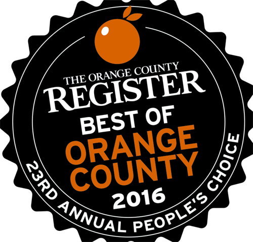 "Voted ""Best of Orange County"" 2016"