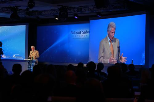 President Clinton, Keynote Speaker, Patient Safety, Science & Technology Summit 2014