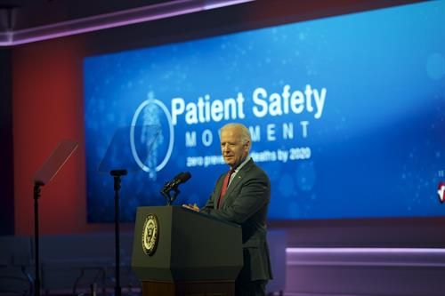 Vice President Joe Biden, Patient Safety, Science & Technology Summit 2015