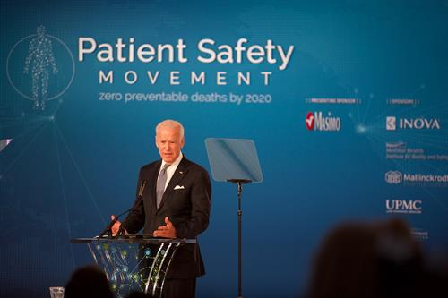 Vice President Joe Biden, Patient Safety, Science & Technology Summit 2017