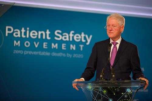 President Clinton, Keynote Speaker, Patient Safety, Science & Technology Summit 2017