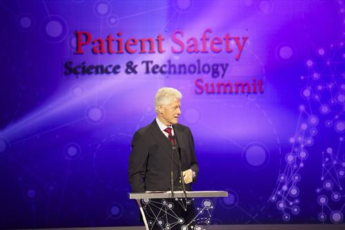 President Clinton, Keynote Speaker, Patient Safety, Science & Technology Summit 2013