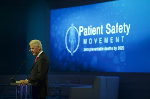 President Clinton, Keynote Speaker, Patient Safety, Science & Technology Summit 2015