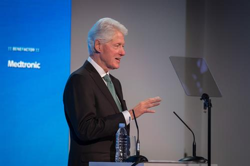 President Clinton, Keynote Speaker, Patient Safety, Science & Technology Summit 2018