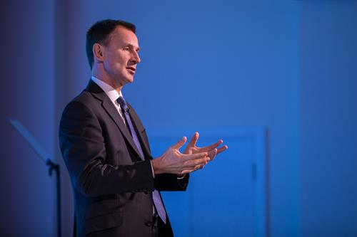 Rt. Hon. Jeremy Hunt, MP, Keynote Speaker, Patient Safety, Science & Technology Summit 2018