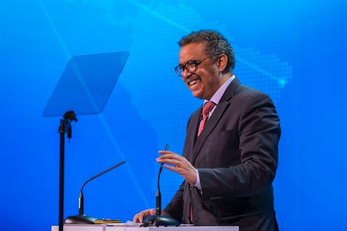 Dr. Tedros Adhanom Ghebreyesus, MD, Keynote Speaker, Patient Safety, Science & Technology Summit 2018