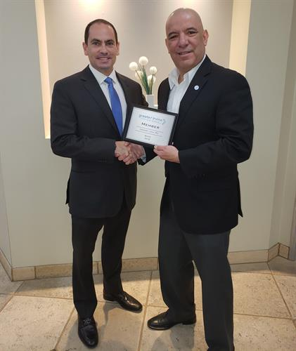 GIC Ambassador Alvarez Welcomes Sean Cooney, Cooney Law
