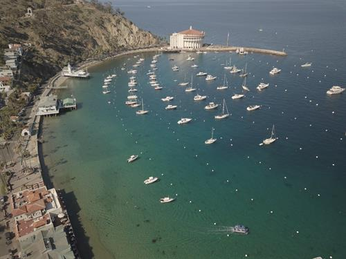 Avalon in Catalina Island- our primary location for instruction