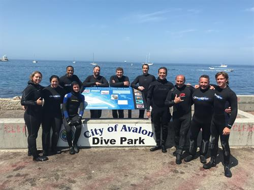 Open water certification course