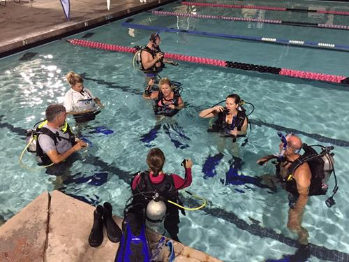 Discover Scuba Course - perfect introduction to scuba diving!