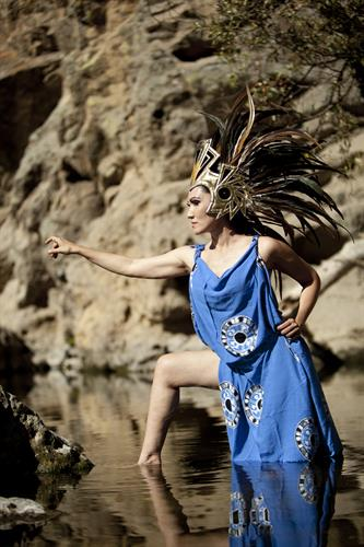 AZTEC tribal dances from before the Spanish Conquest