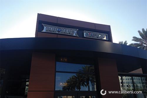 Exterior signage Costa Mesa, CA