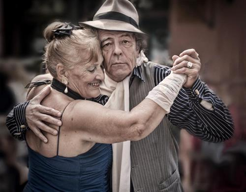 "COASC's Aging as Art Photography Exhibit Winner 2017 Colleen Bevacqua ""Argentine Tango"""