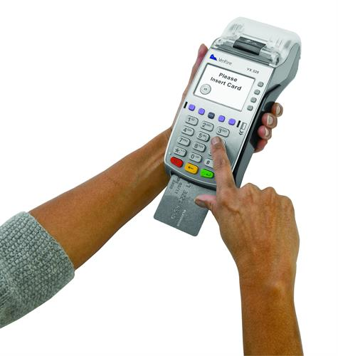 Free Chip Card Terminal Placement