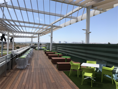 Club Level Party Loft available for group rental