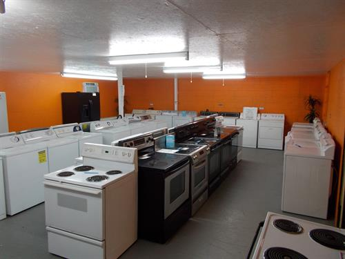 New & Pre-Owned Appliances and Parts for Sale