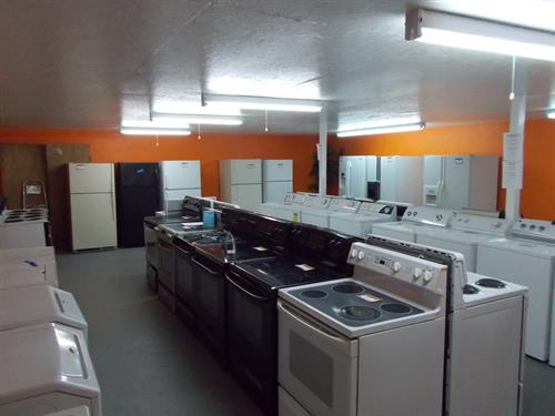 Pre-Owned Refrigerators, Stoves, Washers and Dryers...