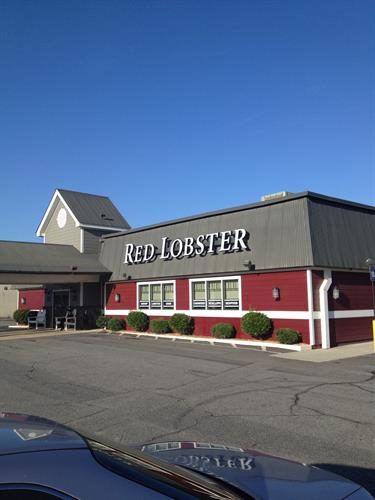 We clean Red Lobster windows once a month.