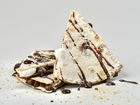 S'mores Quesadilla - Don't forget dessert!
