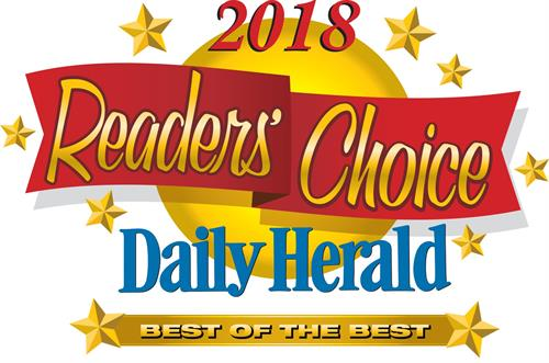 Proud winner of the Best of the Best Dentist in the 2018 Daily Herald Reader's Choice contest!