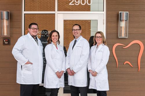Dr. Brian Rosenblatt, Dr. Aurora Hart, Dr. Peter Kics (owner) and Dr. Agata Kluz have over 50 years of combined experience.
