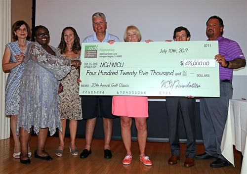 NCH Foundation 20th Annual Golf Classic Provides $425k to NICU