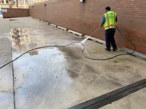 Exterior buliding maintenance