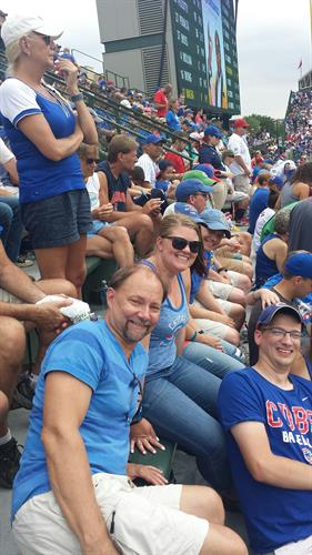 Staff outing to Wrigley Field