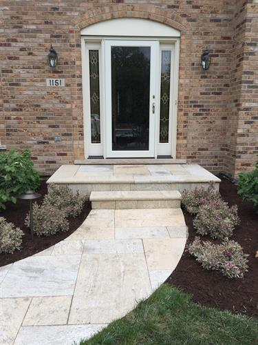 Simple, yet elegant front entry renovations are one of our most popular requests.